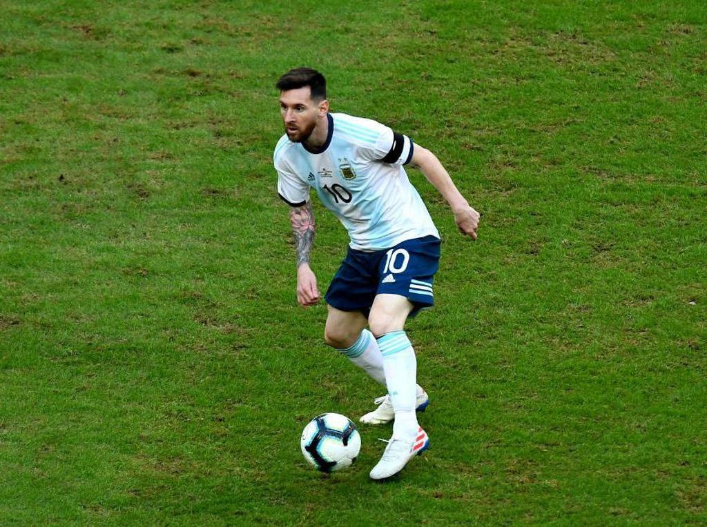 Messi: Lapangan di Copa America 2019 Sangat Jelek
