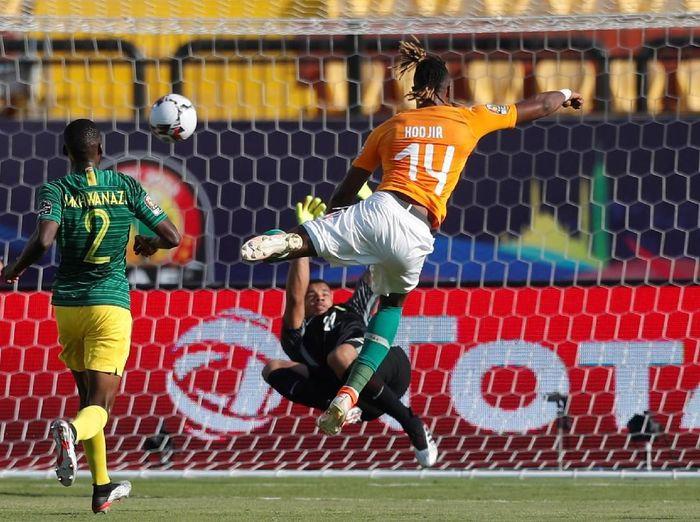 Pantai Gading menang tipis 1-0 atas Afrika Selatan di Piala Afrika 2019. (Foto: Mohamed Abd El Ghany / Reuters)