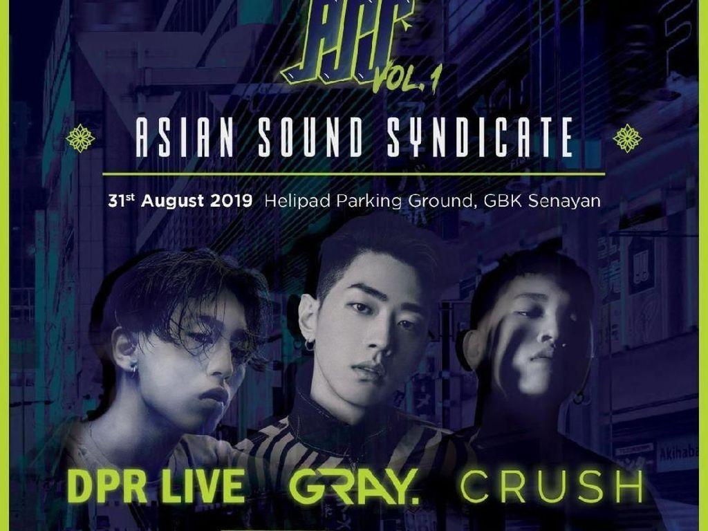 3 Musisi Hip Hop Asal Korea Selatan Sambangi Jakarta