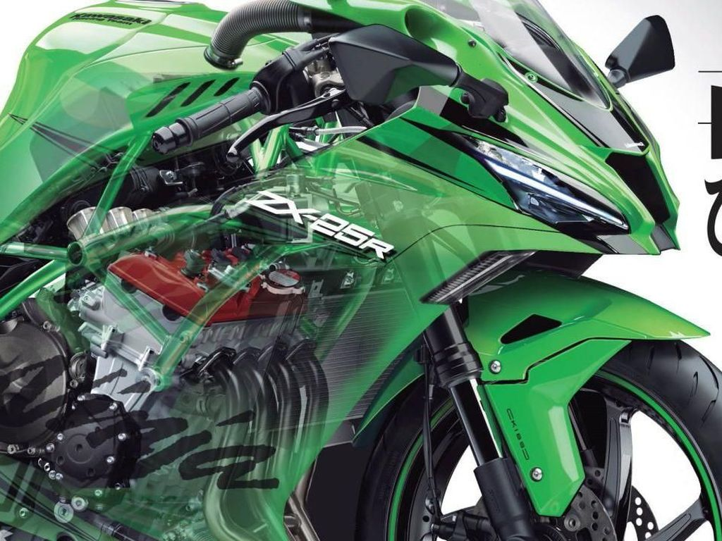 Beginikah Wujud Kawasaki Ninja 250 Bermesin 4 Silinder?