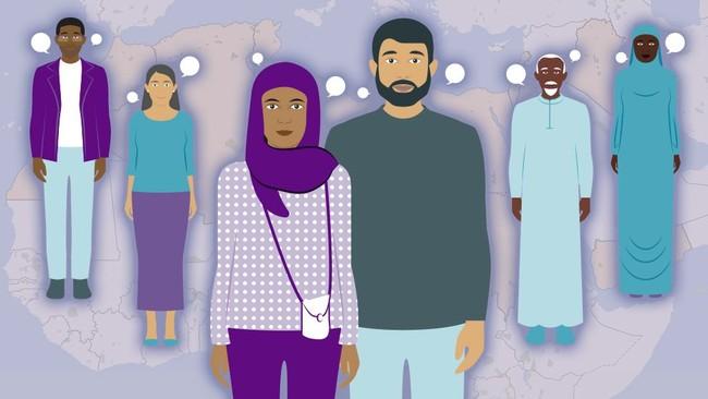 Dunia Arab dalam 7 Grafik: Apakah Orang Arab Mulai Meninggalkan Agama?