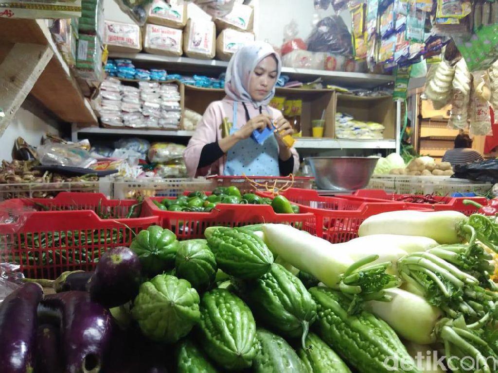 Efek Kemarau, Harga Sayuran Melonjak di Cimahi