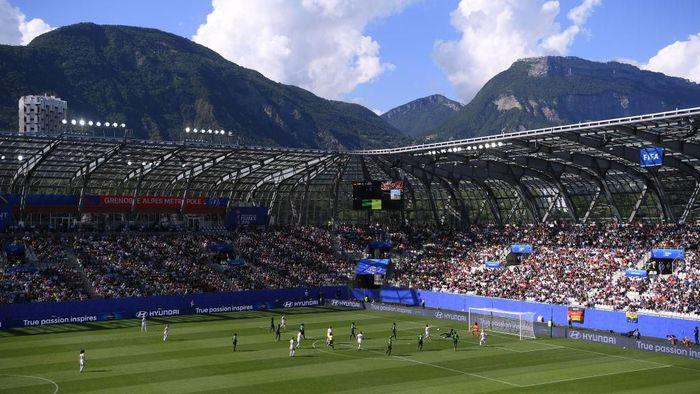 Piala Dunia wanita 2019 tak sepi penonton. Hampir di setiap pertandingannya selalu ramai. (Foto: Laurence Griffiths/Getty Images)
