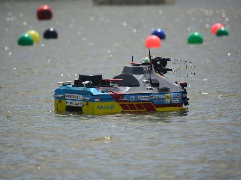 Melihat Aksi Kapal Robot ITS yang Juara di AS