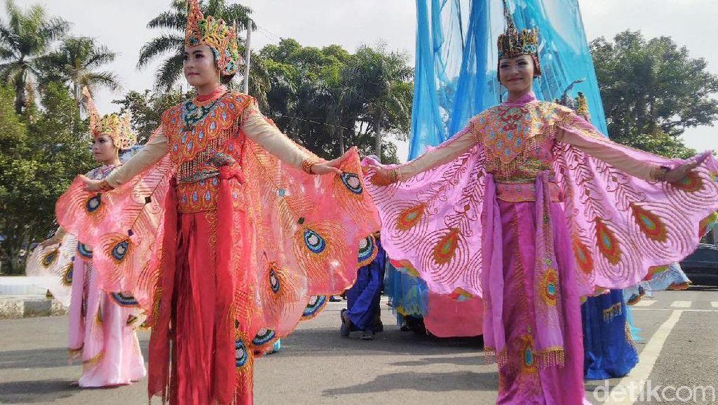 Beragam Seni Budaya Turut Meriahkan Galuh Ethnic Carnival
