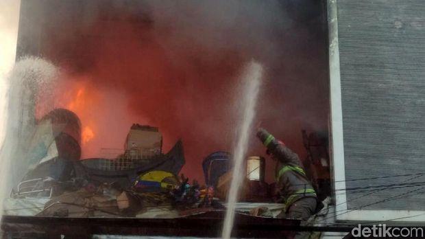 Toko Kembang Api Terbakar di Cianjur, 1 Orang Tewas Terpanggang