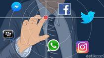 Siber Polri Mulai Kirim Peringatan Virtual ke Akun Medsos yang Sebar Hoax