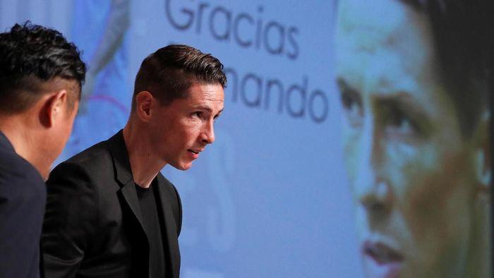 Fernando Torres akan segera pensiun (Foto: Issei Kato/Reuters)