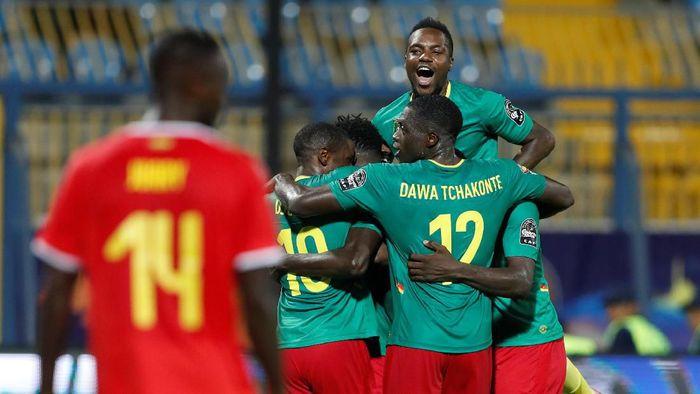 Kamerun mengalahkan Guinea-Bissau 2-0 di laga pertama grup Piala Afrika 2019. (Foto: Amr Abdallah Dalsh / Reuters)