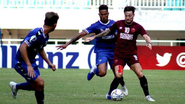 Hasil Liga 1: PSM Makassar Kalahkan Arema 6-2