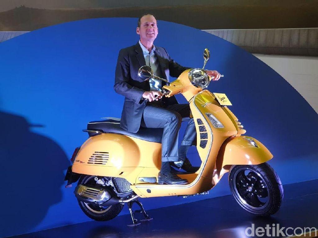 Skuter Premium Terbaru Italia Dibanderol Rp 58 Juta