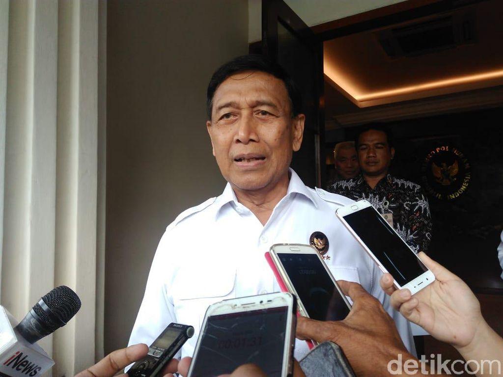 Wiranto: Pokoknya Tak Ada Izin Demo di Sekitar MK, Polisi Berhak Membubarkan