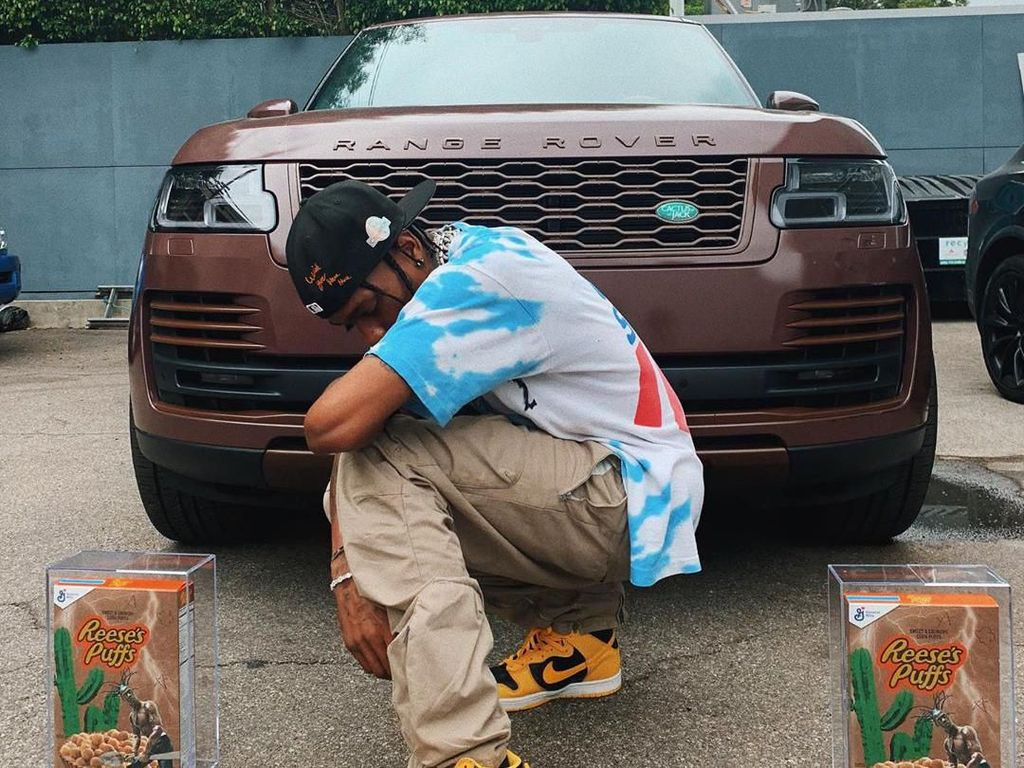 15 Menit Dirilis, Kotak Sereal Bikinan Travis Scott Ludes Terjual