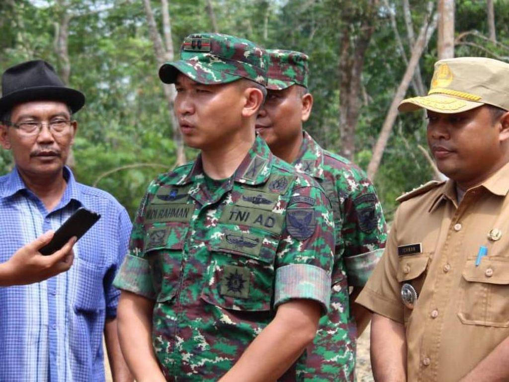 Dandim 0415/Batanghari Tinjau Kegiatan TNI Membangun Desa