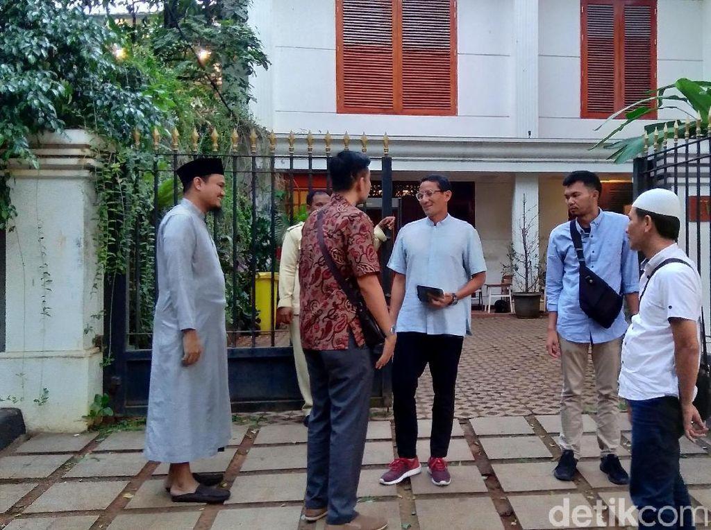 Pulang dari Jerman, Prabowo Bertemu Sandiaga di Kertanegara