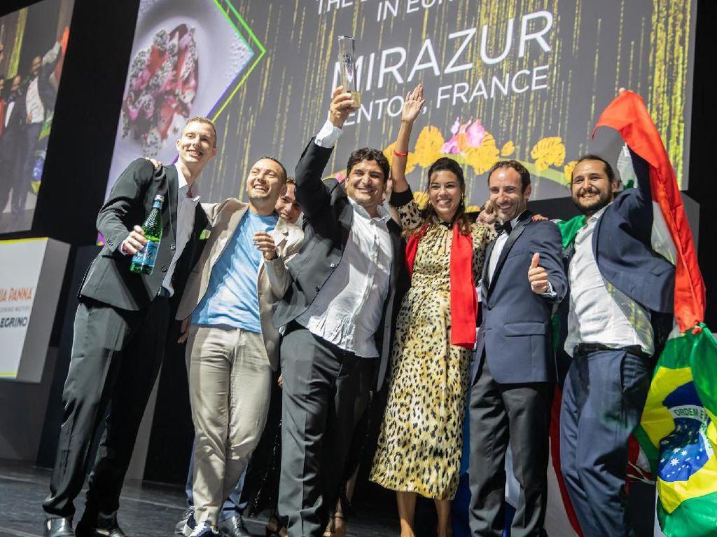 Jadi Restoran Terbaik di Dunia, Mirazur Konsisten Gunakan Produk Lokal