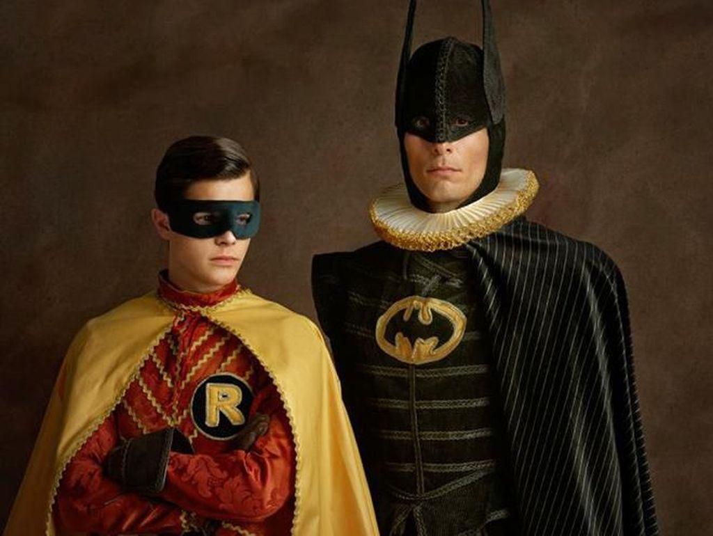 Begini Tampilan Superhero Bila Hidup di Abad Pertengahan