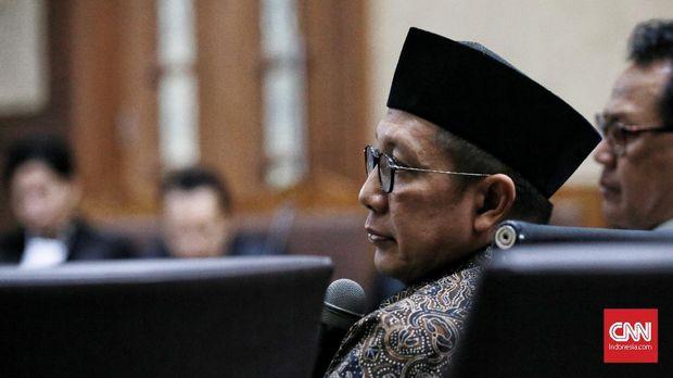Vonis: Menag Lukman Terima Rp50 Juta dari Haris Hasanuddin
