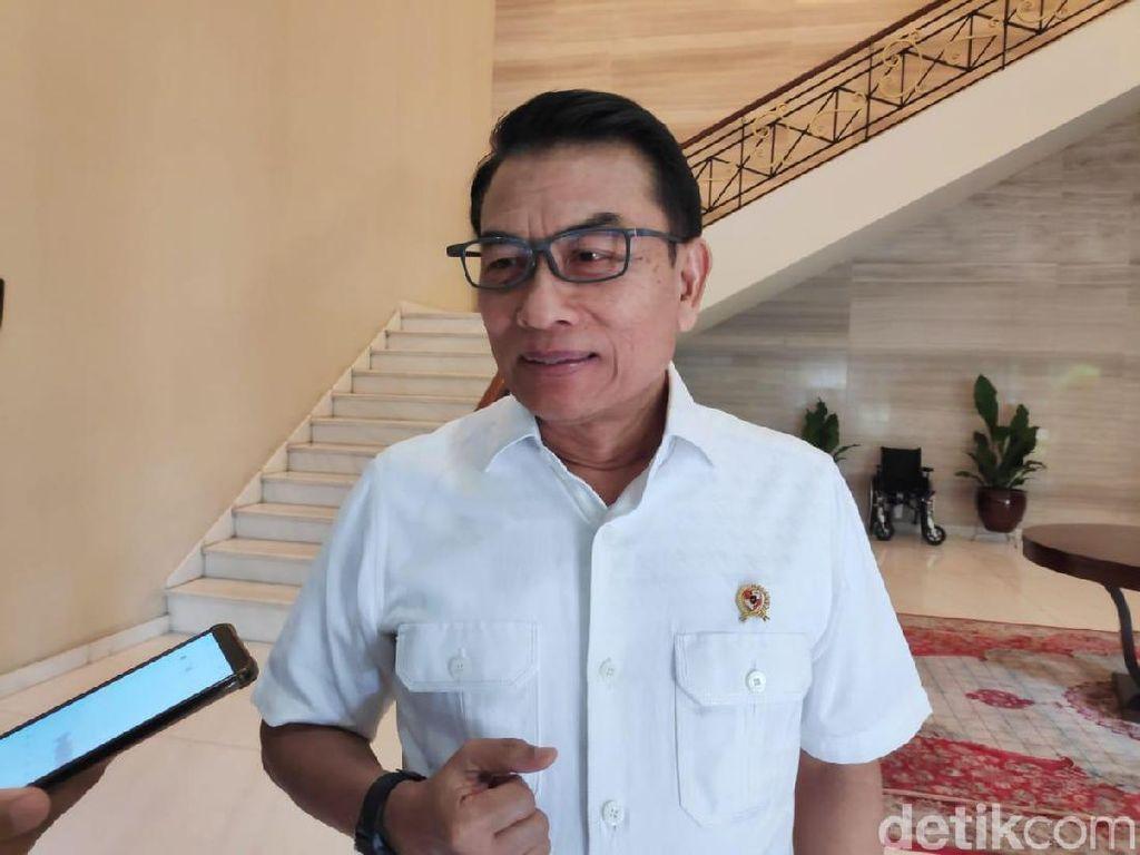 Rini Tak Ikut Jokowi ke PLN, Moeldoko: Masa Naik Haji Disuruh Pulang