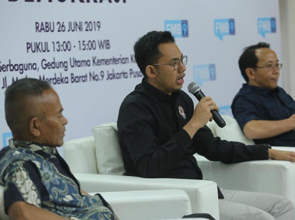Kominfo Gelar Diskusi Pers di Pusaran Demokrasi