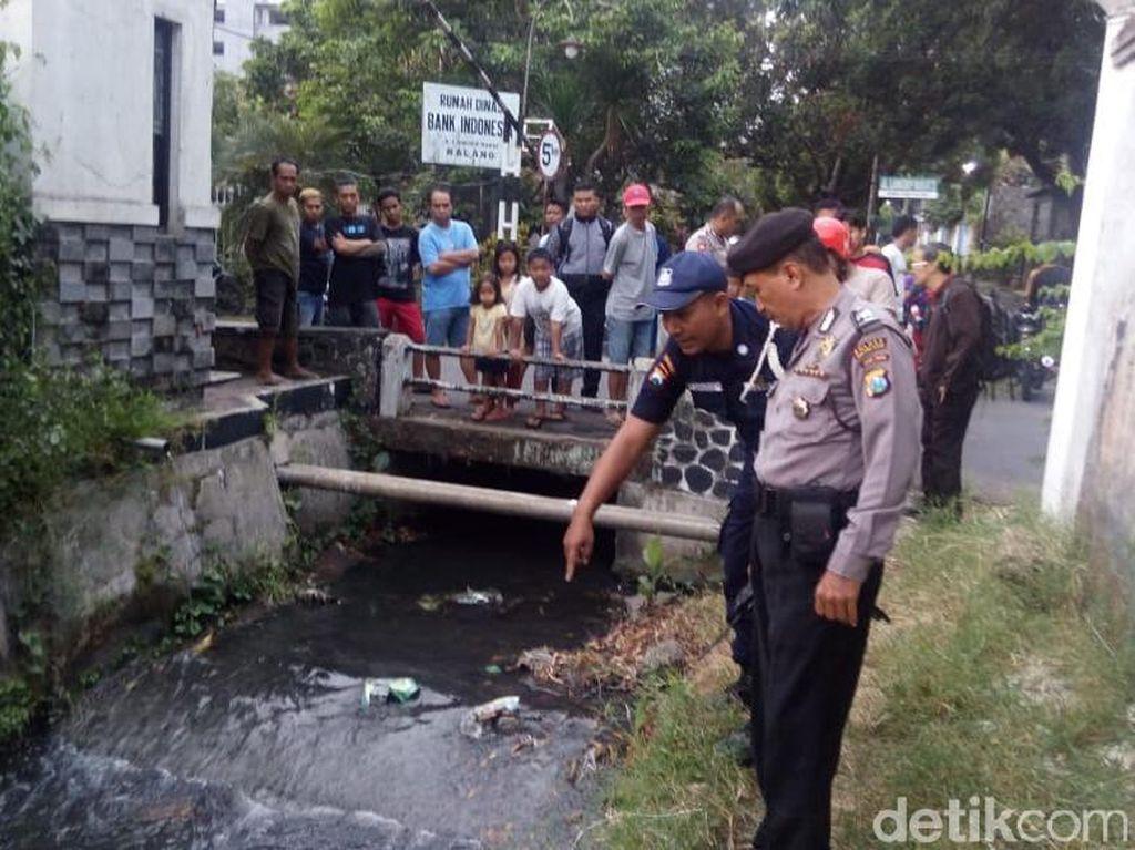 Mayat Bayi Ditemukan Terbuang di Dekat Perumahan Bank Indonesia Malang