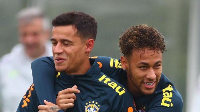 Neymar dan Coutinho akan bersatu di Barcelona (live Rose/Getty Images)