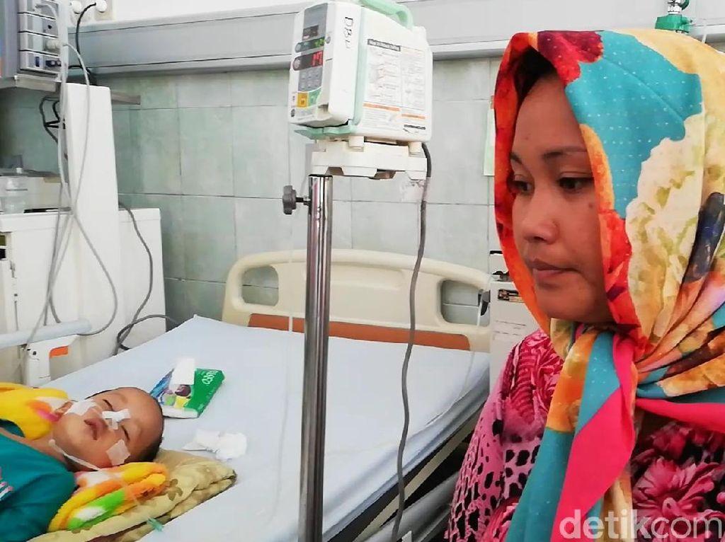 Bocah Radika Koma, Dinkes dan Dinsos Kabupaten Pasuruan Turun Tangan