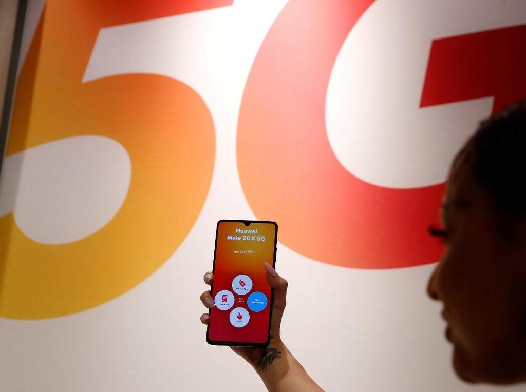 Huawei Jual Lebih Banyak Ponsel 5G Daripada Samsung di 2019