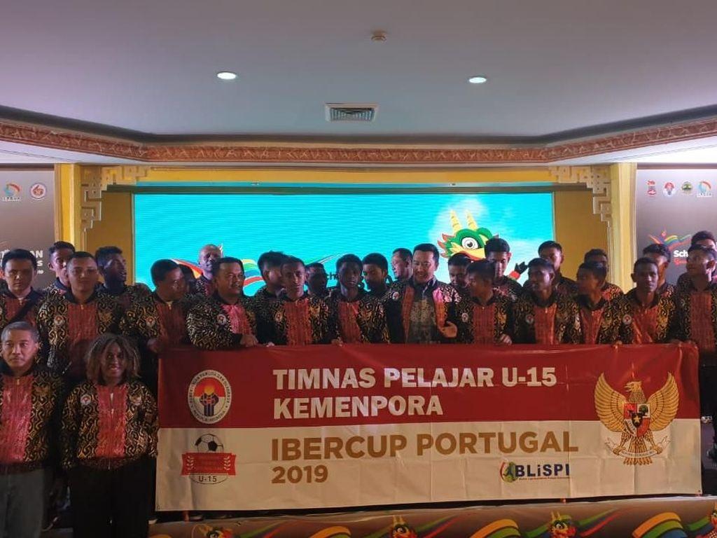 Timnas Pelajar Ikut Turnamen di Portugal, Berharap Lahir CR7 Asal Indonesia