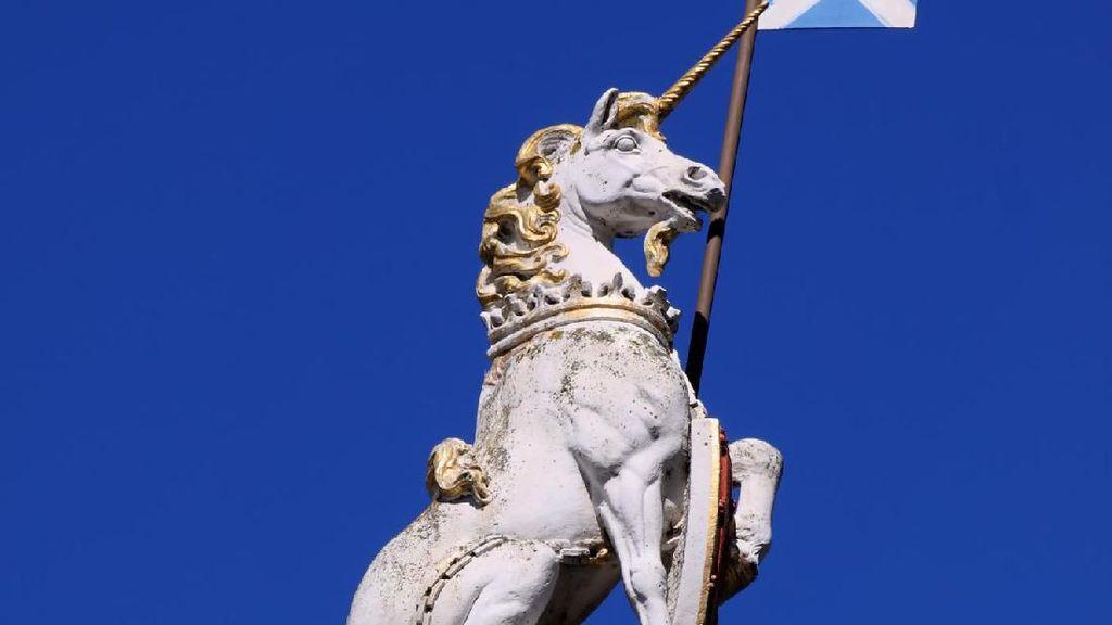Foto: Unicorn Jadi Lambang Negara Ini