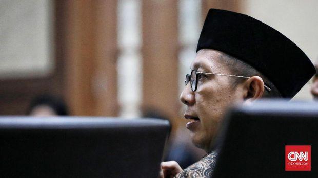 Menteri Agama Lukman Hakim Saifuddin disebut menerima Rp70 juta dalam seleksi jabatan.