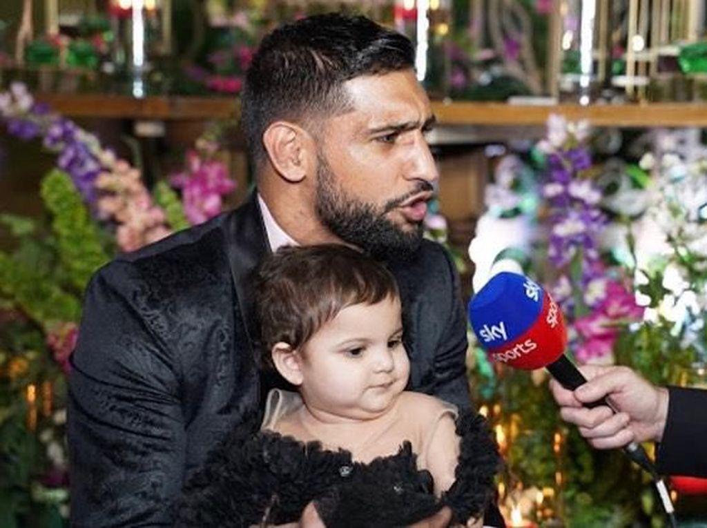 Foto: Mewahnya Pesta Ulang Tahun Pertama Anak Amir Khan, Habiskan Rp 1,3 M