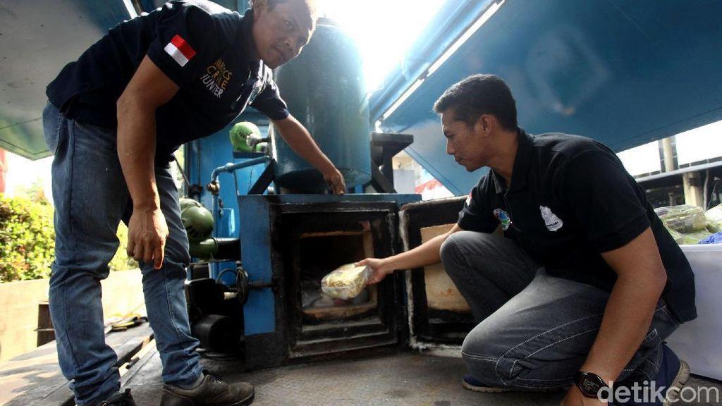 Peringati HANI, 138 Kg Sabu dan 10 Ribu Ekstasi Dimusnahkan