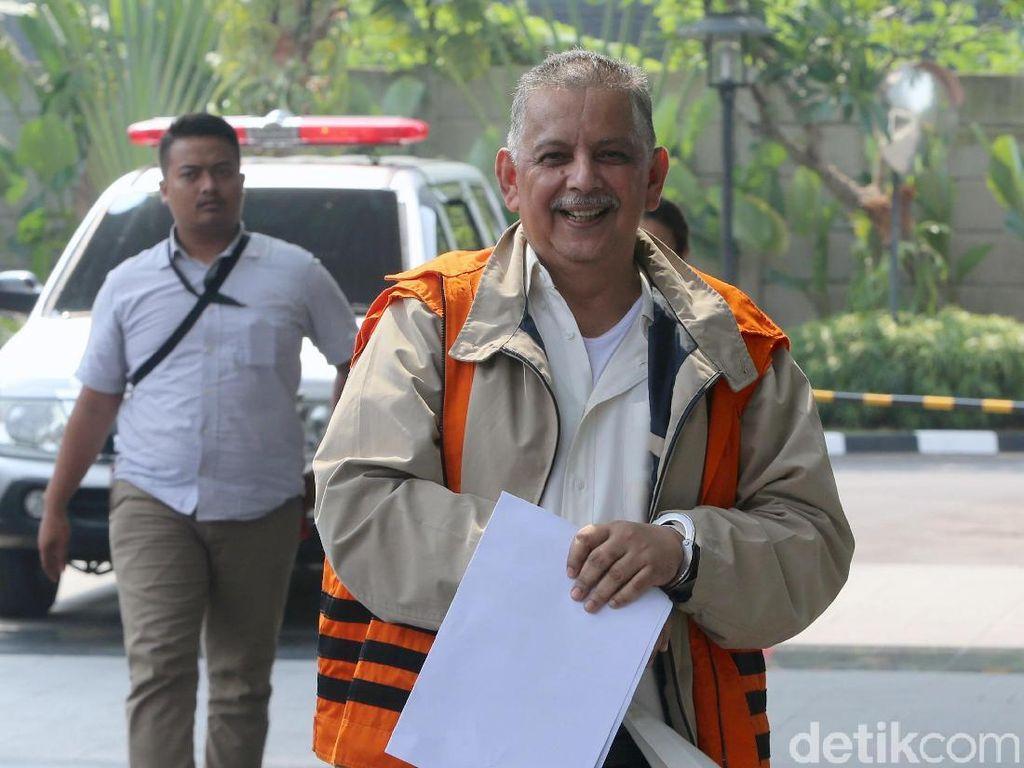 Bersaksi di Kasus Bowo Sidik, Sofyan Basir Masih Bisa Tersenyum
