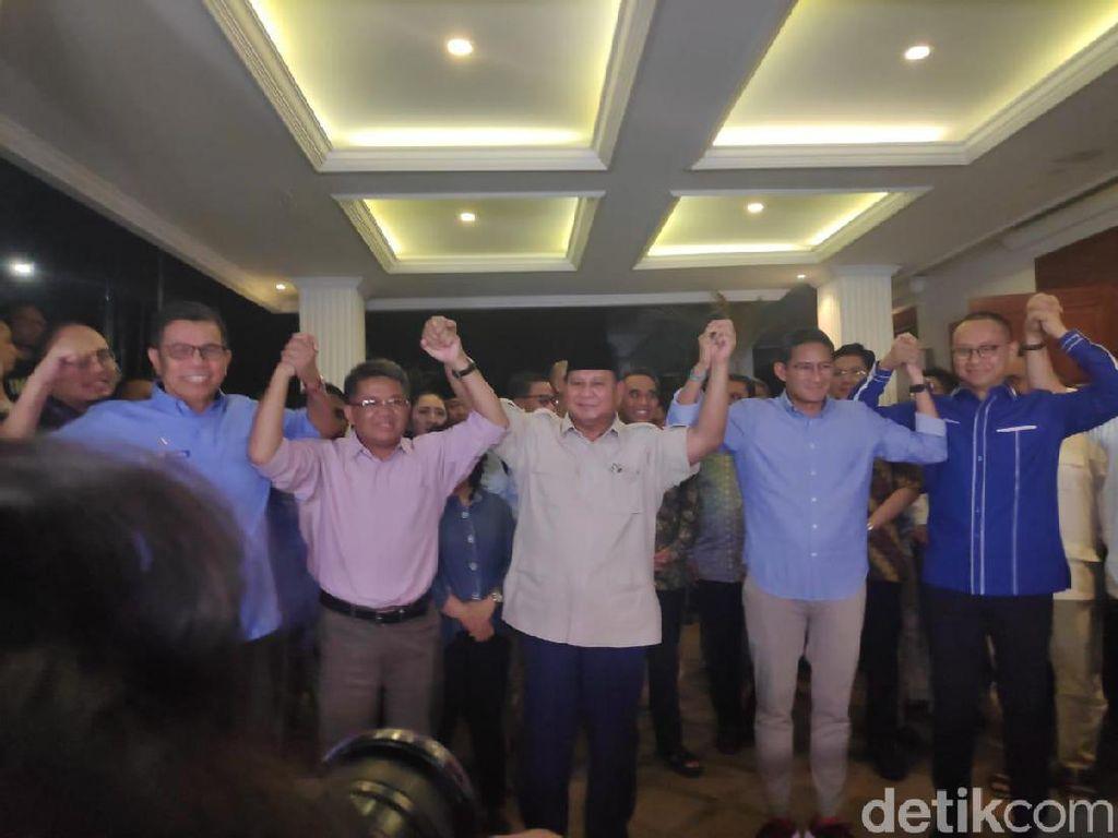 Prabowo: Tetap Tenang, Damai dan Antikekerasan