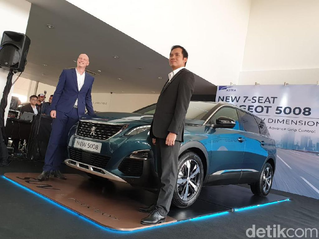 New Peugeot 5008 SUV Resmi Mendarat di Indonesia