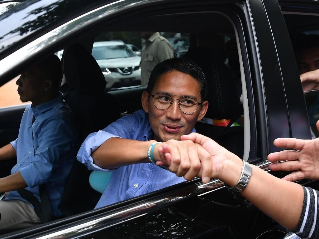 Sandiaga soal Pertemuan Prabowo-Jokowi: Tak Bisa Langsung Rekonsiliasi
