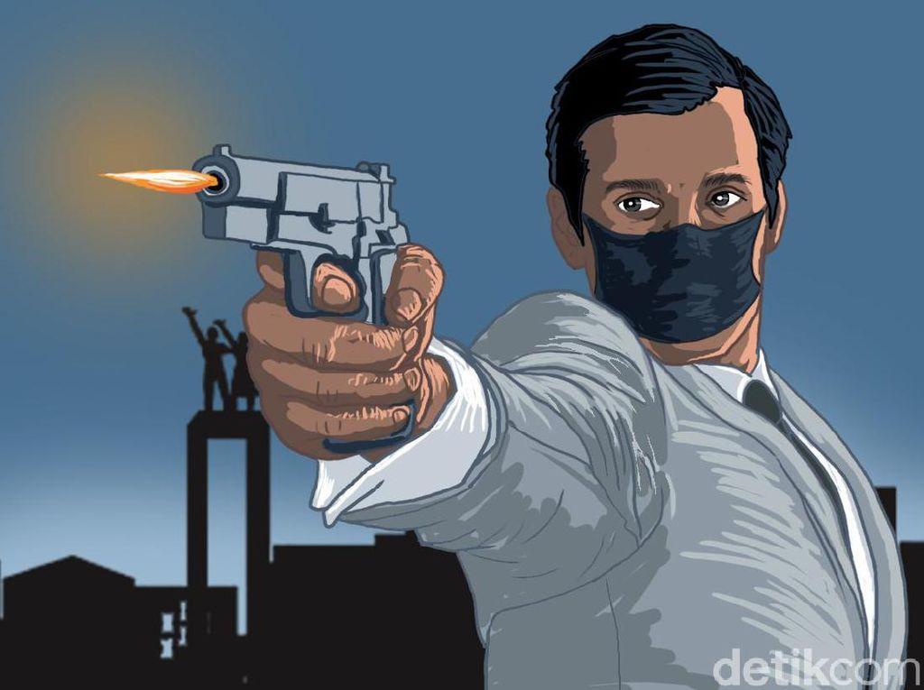 Todongkan Pistol Kapolsek-Ngamuk di Kafe, Brigadir AF akan Disidang Disiplin