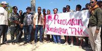 Warga Desa Komodo menolak penutupan Pulau Komodo (dok Istimewa)