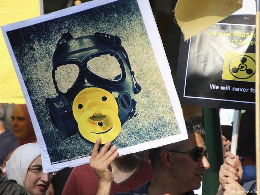Perusahaan Jerman Disebut Kirim Bahan Kimia Berbahaya ke Suriah
