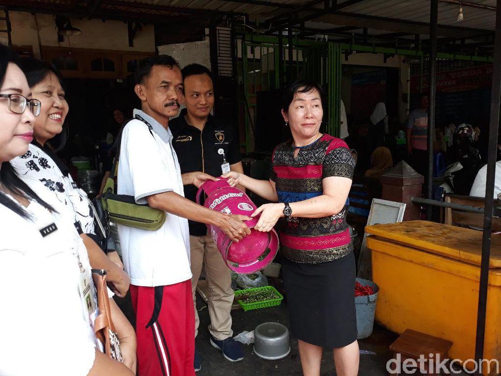 Satpol PP Pergoki Rumah Makan di Solo Pakai Puluhan Tabung Elpiji Subsidi