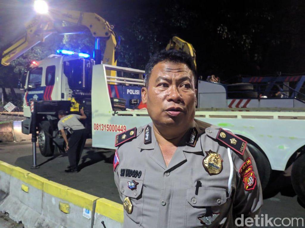 Sidang Putusan MK Selesai, Polisi Kembali Buka Jalan Medan Merdeka Barat