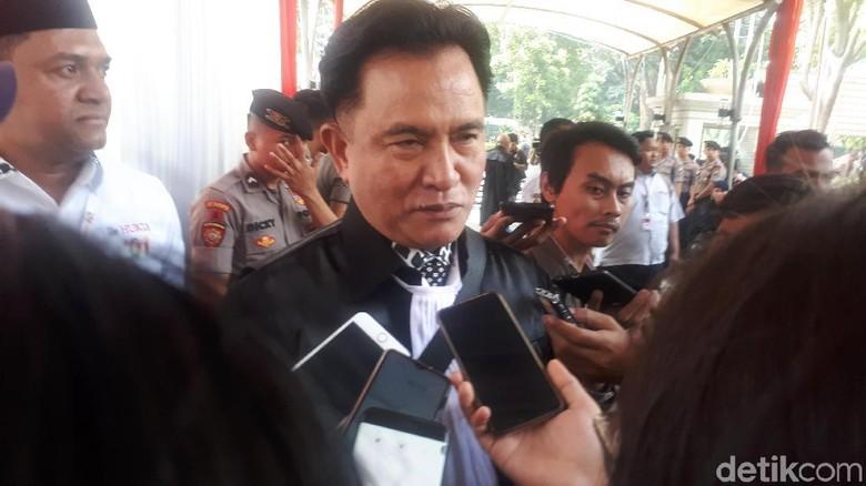 Yusril Yakin MK akan Tolak Gugatan Prabowo Tanpa Dissenting Opinion