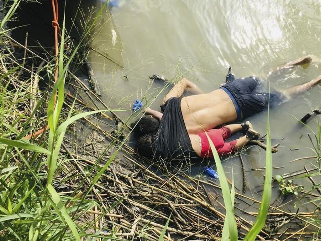 Kisah Mengenaskan di Balik Foto Ayah-Anak yang Tenggelam di Perbatasan AS