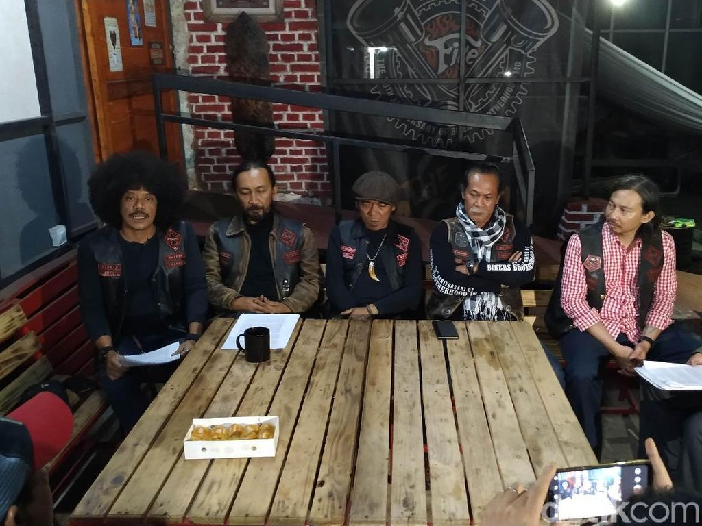 Perpecahan Bikers Brotherhood Sampai ke Meja Hijau