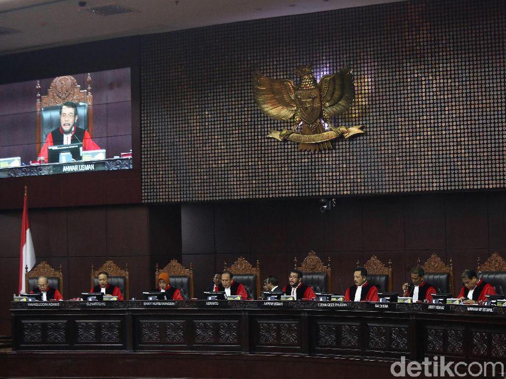 MK Mentahkan Dalil Tim 02 soal Daftar Pemilih Tak Wajar 22 Juta