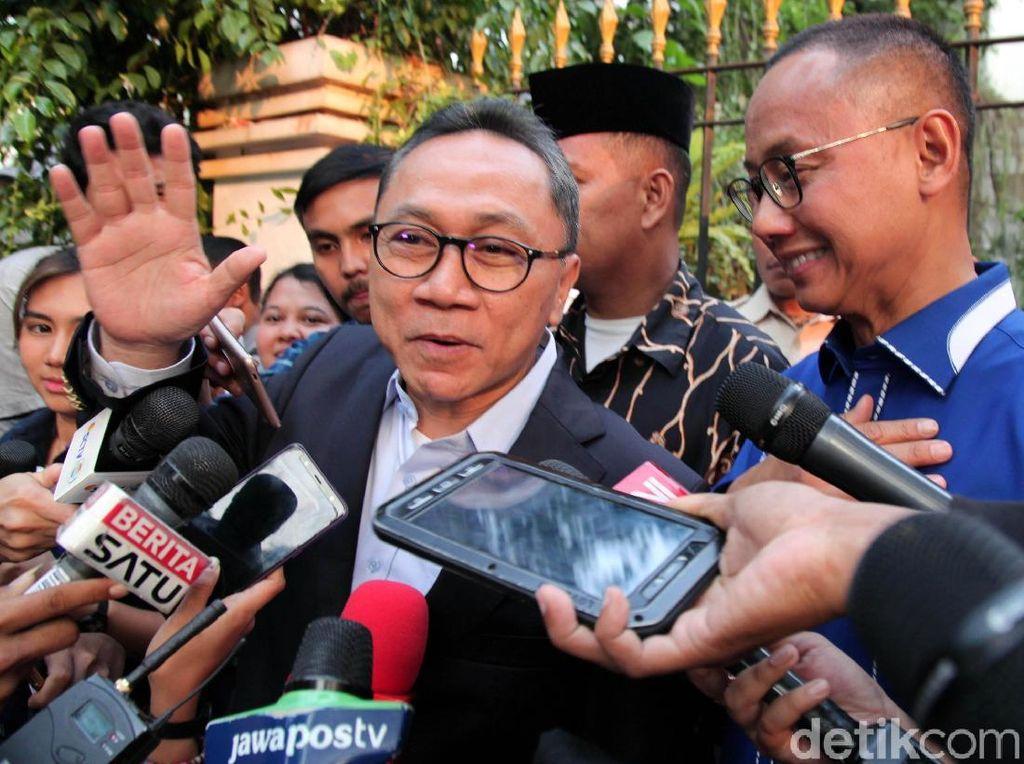 Di Halalbihalal ICMI, Zulhas Ungkap soal Pembubaran Koalisi Prabowo