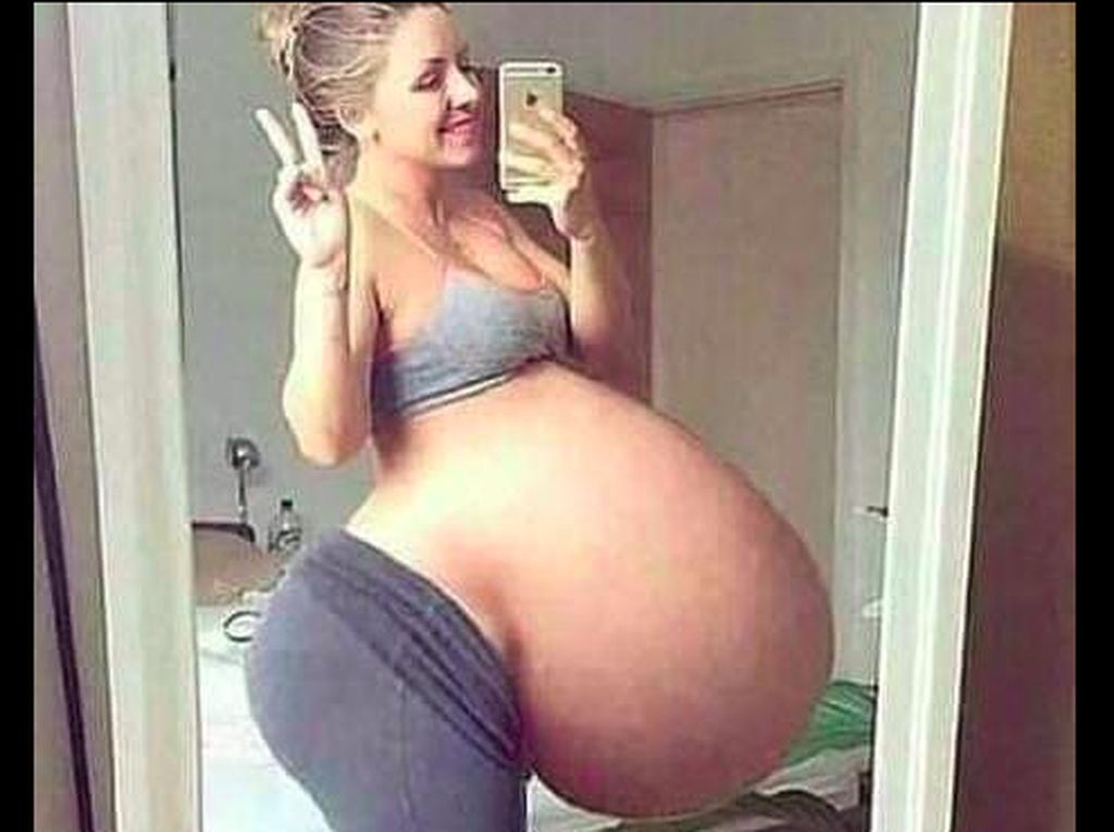 Viral Foto Wanita Disebut Hamil 17 Anak Sekaligus, Bagaimana Faktanya?