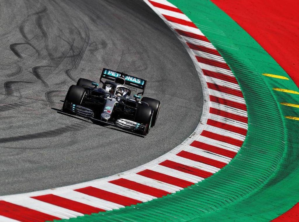 Ungguli Vettel, Hamilton Tercepat di FP1 GP Austria