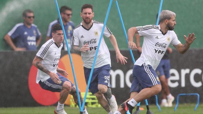 Argentina akan menghadapi Venezuela di perempatfinal Copa America 2019 (Foto: Ricardo Moraes/Reuters)
